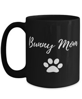 Bunny Mom Coffee Mug Funny Rabbit Lover Gift Tea Cup