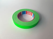 tesa 4671 NEON Klebeband Warnband Zellwollgewebe 19mm x 25m Neon-Grün