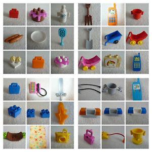 LEGO DUPLO - Zubehör / Einzelteile / Ersatzteile aussuchen z. B. Torte, Schlauch
