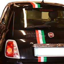 Fiat 500 - kit Fascia adesiva tricolore  - niente bolle - lunga durata