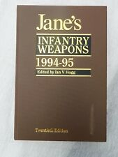 JANE'S INFANTRY WEAPONS 1994 - 95  MASSIVELY ILLUSTRATED SUPERB COPY