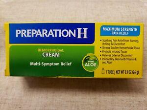 Preparation H Hemorrhoid Multi Symptom Relief Treatment Cream - 0.9 oz