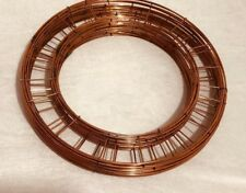 """Wreath Flat Wire Rings 8"""" 10"""" 12"""" 14"""" 16"""" Christmas Mossing Ring Craft flower"""