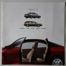 SATURN S-SERIES 2000 dealer brochure catalog - French - Canada