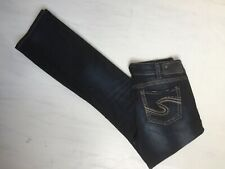 New Silver Jeans Women's SUKI Baby Bootcut Mid-Rise Curvy Fit F00715A