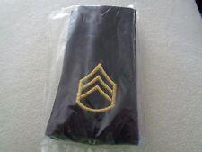 ^ (A30-2) US Schulterklappen Shoulder Bord Staff Sergeant long org. Verpackt
