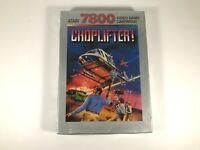 New CHOPLIFTER Game - Atari 7800 System -  FACTORY SEALED w/ Hangtab