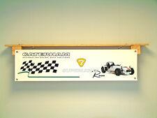 Caterham 7 superlight R500 PVC banner sign for workshop garage, R300, R400