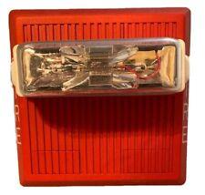 New listing Wheelock Hs4-24Mcw 15/30/75/110cd (24V Dc) Fire Alarm Horn Strobe - Red