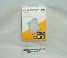 Western Digital My Passport ULTRA 4TB Portable External HDD - Silver