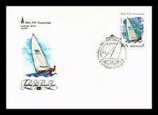 DR JIM STAMPS FINN DINGHI OLYMPICS SAILING FDC USSR RUSSIA EUROPEAN SIZE COVER