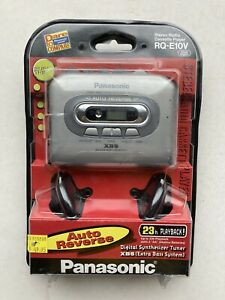 NEW IN BOX Panasonic Personal AM/FM Stereo Cassette Player Model RQ-E10V XBS