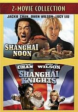 Shanghai Noon/shanghai Knights 0786936758436 With Tom Fisher DVD Region 1