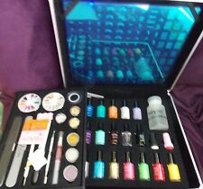 MoYou Salon Pink Suitcase Nail Art Ultimate Set Premium Stamp Designs New $599