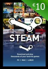 Steam Wallet 10 €