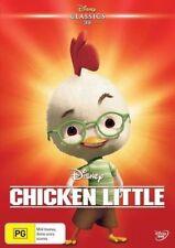 Chicken Little (DVD) Zach Braff, Joan Cusack, Steve Zahn - Disney 2005.