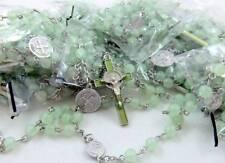 "MRT Rosary BULK Wholesale Lot 25 Sellers Student Luminous Bead St Benedict 18"""