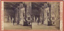 Photographie stereo Van Lint Pisa Italie Italia Vintage Albumine