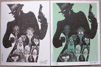 DUMONT - CHAMBRES NOIRES DUO - Ex-libris limité à 75 exemplaires