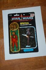 B-Wing Pilot-Star Wars-POTF Power of the Force-MOC-Vintage-Coin