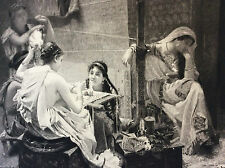 Pénélope P. A. A Leroy gravure Gery-Bichard Sté Amis des Arts fin XIX ème 1894