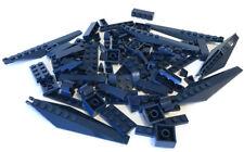 LEGO Dark Blue Bricks Mixed Bulk Lot 100 Pieces GOOD VARIETY Parts Plates Tiles