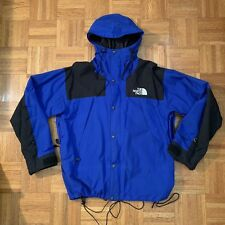 VTG The North Face Blue GORE-TEX Mountain Light Parka Jacket Vintage