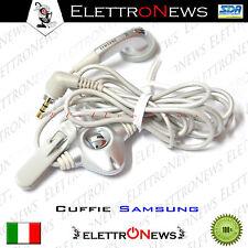 Auricolare Cuffie Samsung A800 E400 N500 N620 Grigio Originale