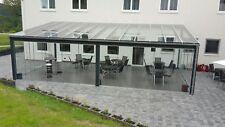 Top Sonderangebot Terrassenüberdachung Kaltwintergarten Terrassendach VSG Glas !