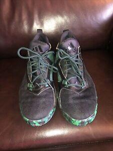 Adidas D Lillard 2 Mens Brookfield Suga Gee Basketball Shoes Green/Black 8M
