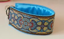 Collier chien lévrier / Greyhound collar-whippet, galgo, saluki, afghan, etc