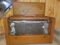 RCA Victor Strato World Tube Radio Model 3 BX 671 Shortwave Broadcast parts/rep