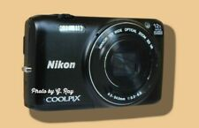 NIKON S6800 BLACK MECHANICALLY RECONDITIONED-12X ZOOM-GREAT LOW LIGHT & MACRO