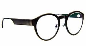 Pure Titanium Fashion Oval Gunmetal Reading Glasses & Premium Coated Lens 9106