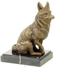 Bronze Figur Fuchs Fox Skulptur Jagd Tiere Wildtiere