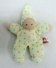 Nanchen Baby Doll Small Rattle Waldorf Style Germany