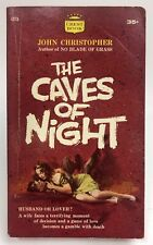 CAVES OF NIGHT John Christopher CREST FAWCETT Thriller