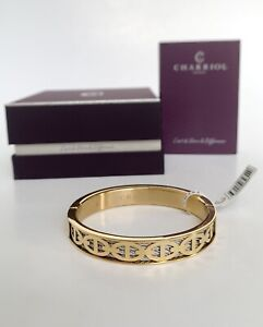 Charriol * Bangle Forever Marine 04-104-1139-25M Yellow Gold PVD Medium