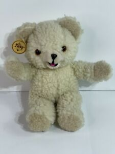 """Vintage 1986 Snuggle Fabric Softener Bear 10"""" Plush Lever Brothers Russ"""