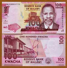 Malawi, 100 Kwacha, 2013, P-New, UNC