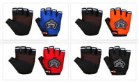 Cycling Gloves Half Finger Mountain Bike Bicycle Gloves Racing Biking Gloves LED