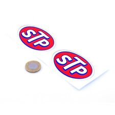 STP Oil Sticker Classic Vintage Retro Car Indycar Nascar Vinyl Decals 75mm