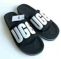 UGG ZUMA GRAPHIC WOMEN'S BLACK SLIDE SIZE 10 NEW STYLE 1099833