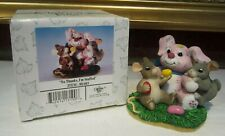 Charming Tails No Thanks, I'm Stuffed Figurine 88/603 Fitz and Floyd Collectible