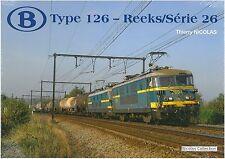 Nicolascollection 978-2-930748-17-7 libro SNCB NMBS Type 126 Reeks/Série 26 NUOVO + OVP