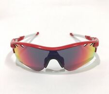 Oakley Sunglasses * Radarlock Path Vented 9181-16 Infrared w/ Red Iridium & VR28