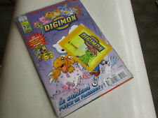 DIGIMON 9 .PANINI COMICS . avec  l'autocollant cadeau   .NEUF