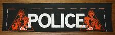 THE POLICE STING ZENYATTA 1980 ORIGINAL VINTAGE MATERIAL SEWING SEW ON PATCH