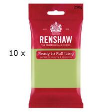 2.5 Kg Renshaw Ready Roll Icing Fondant Cake Regalice Sugarpaste PASTEL GREEN
