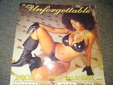 Unforgettable 2005 Year Calendar Women of Color Esther Baxter Rita G Azzareya